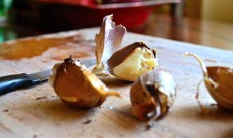 Best stuff on earth. Roasted Garlic.