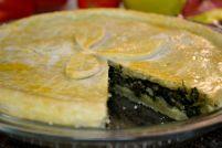 Spinach pie, Scarpazzone Al Forno (Italian Spinach pie)