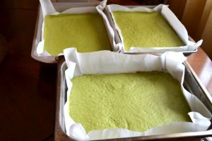 Green Tea Sponge cakes