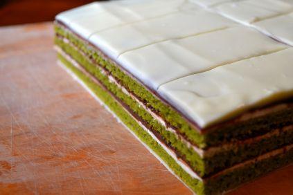 opera cake in the works