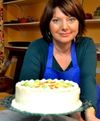 G. with Carrot Cake