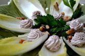 Roquefort in Belgian endive leaves