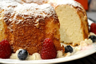 Almond Angel Cake