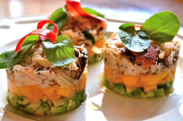 Crab, Mango and Avocado Salad | gretacooks