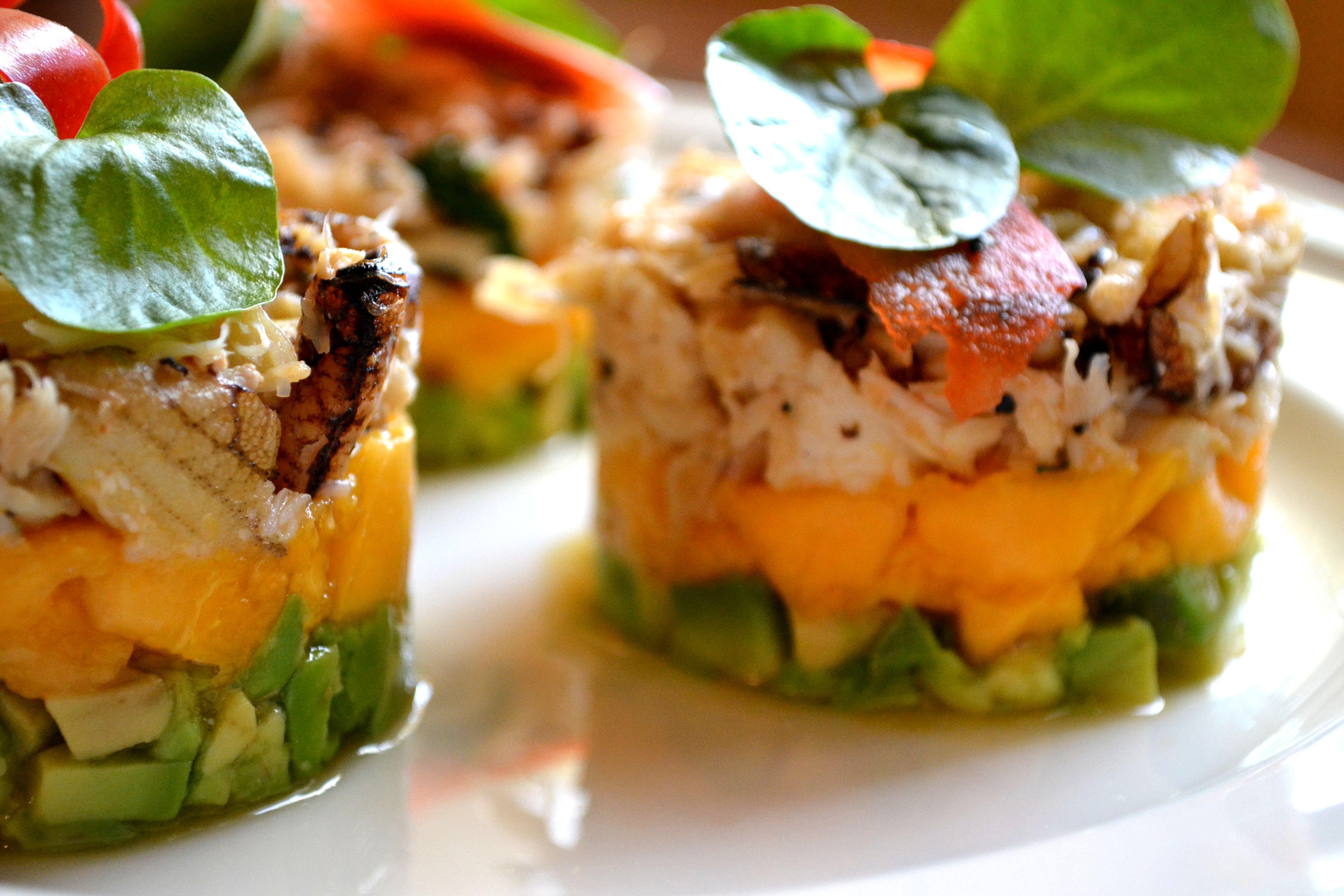 Crab, Mango and Avocado Salad | gretacooks