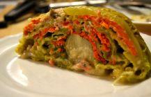 Salmon Stuffed cabbage
