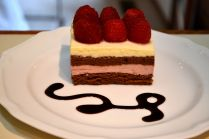 Key Lime, Chocolate and Raspberry